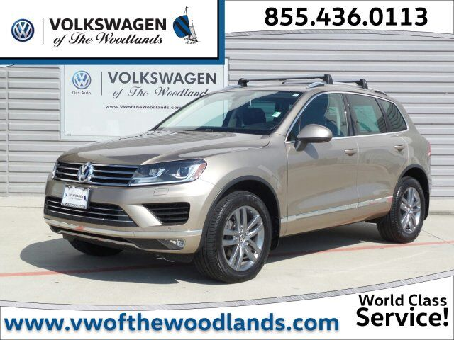 2016 Volkswagen Touareg Lux The Woodlands TX