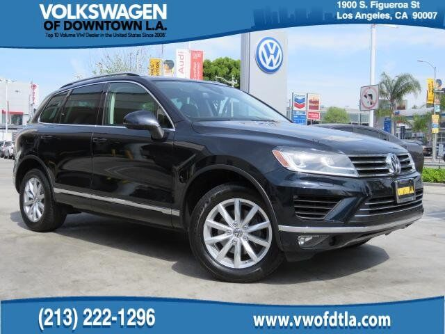 2016 Volkswagen Touareg Sport w/Technology Los Angeles CA