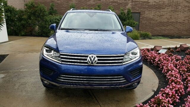 2016 Volkswagen Touareg TDI Sport w/Technology Drivers Assistance Mentor OH