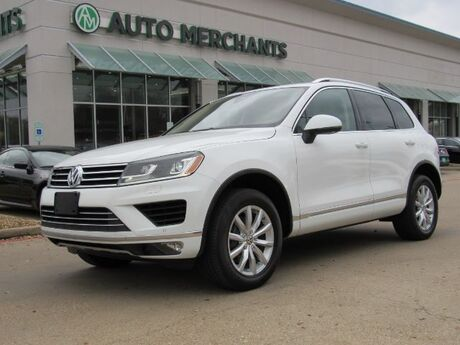 2016 Volkswagen Touareg VR6 Lux LEATHER, NAVIGATION, HTD SEATS, POWER LIFTGATE, BACKUP CAMERA, BLIND SPOT MONITOR Plano TX
