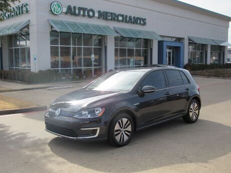 2016 Volkswagen e-Golf SE , NAVIGATION SYSTEM, REAR PARKING AID, HEATED FRONT SEATS, BLUETOOTH CONNECTION, Plano TX