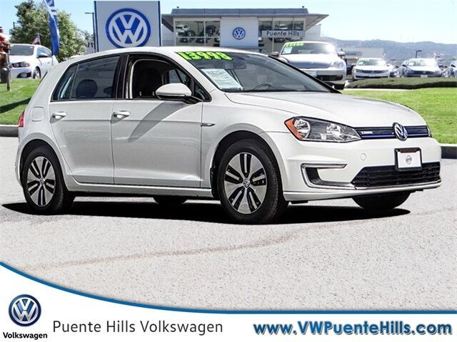 2016 Volkswagen e-Golf SE City of Industry CA