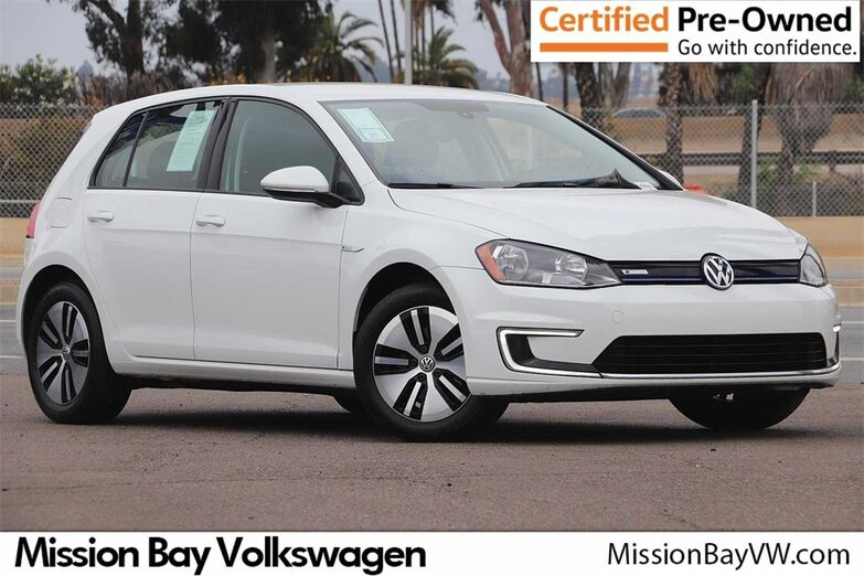 2016 Volkswagen e-Golf SE DC FAST CHARGE San Diego CA