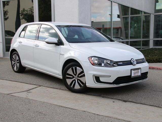 2016 Volkswagen e-Golf SE DC FAST CHARGE Van Nuys CA