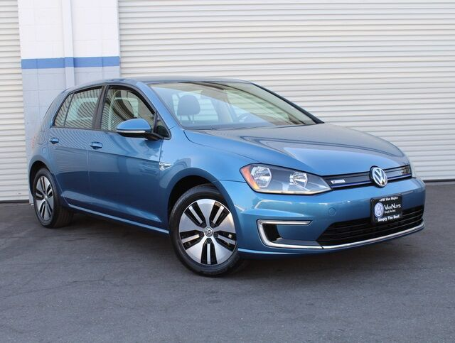 2016 Volkswagen e-Golf SE DC FAST CHARGER City of Industry CA