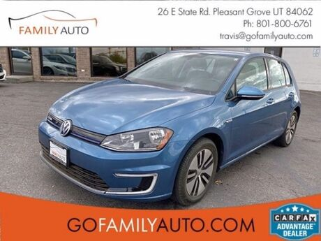 2016 Volkswagen e-Golf SE Pleasant Grove UT