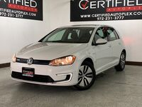 Volkswagen e-Golf SE REAR CAMERA HEATED SEATS SMART PHONE INTEGRATION HEATED SEATS KEYLESS GO 2016