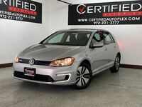 Volkswagen e-Golf SE REAR CAMERA HEATED SEATS SMART PHONE INTEGRATION KEYLESS GO P 2016