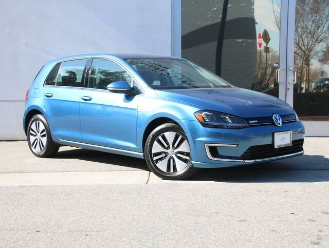 2016 Volkswagen e-Golf SEL Premium DC FAST CHARGE W/DRIVER ASSIST Van Nuys CA