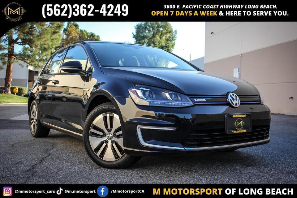 2016_Volkswagen_e-Golf_SEL Premium Hatchback Sedan 4D_ Long Beach CA