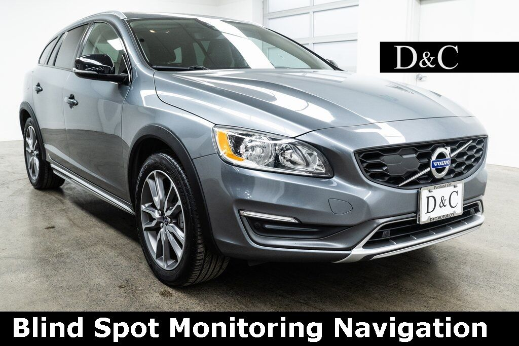 2016 Volvo V60 Cross Country T5 Blind Spot Monitoring Navigation Portland OR