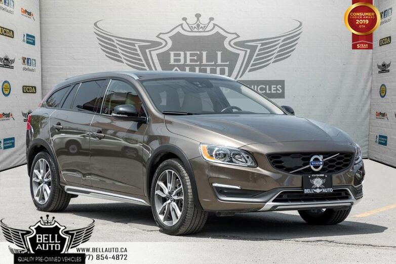 2016 Volvo V60 Cross Country T5 Premier, AWD, NAVI, BACK-UP CAM, SUNROOF Toronto ON