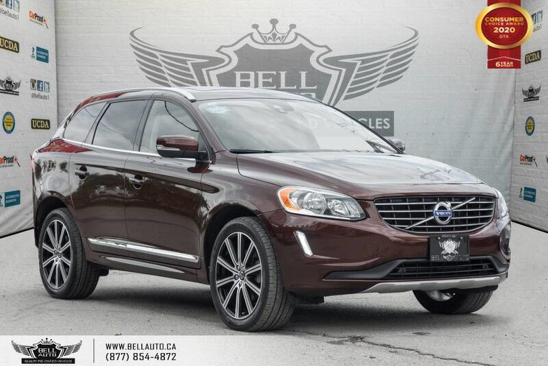 2016 Volvo XC60 T6 Premier, AWD, NAVI, BACK-UP CAM, PANO ROOF, SENSORS