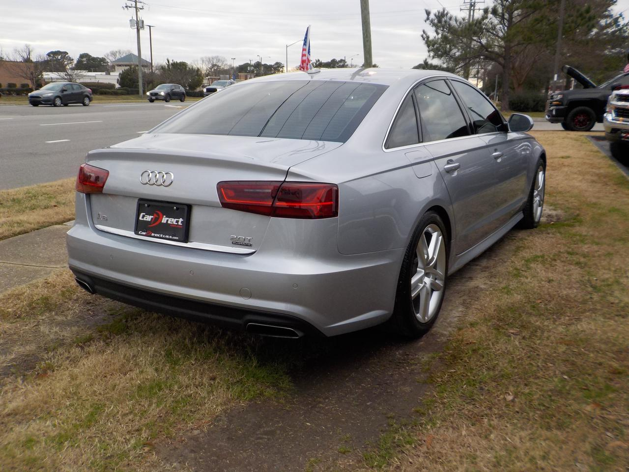 2017 AUDI A6 2.0T QUATTRO PREMIUM AWD, LEATHER, NAVIGATION, BACKUP CAMERA, SUNROOF, HEATED SEATS, ONLY 37K MILES! Virginia Beach VA