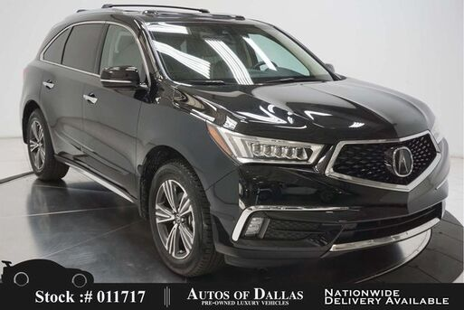 2017_Acura_MDX_3.5L CAM,SUNROOF,KEY-GO,18IN WLS,3RD ROW_ Plano TX