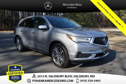 2017_Acura_MDX_3.5L w/Technology Package V6 ** Pohanka Certified **_ Salisbury MD