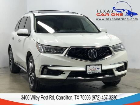 2017 Acura MDX ADVANCE PKG ENERTAINMENT PKG ACURAWATCH PKG NAVIGATION BLIND SPO Carrollton TX