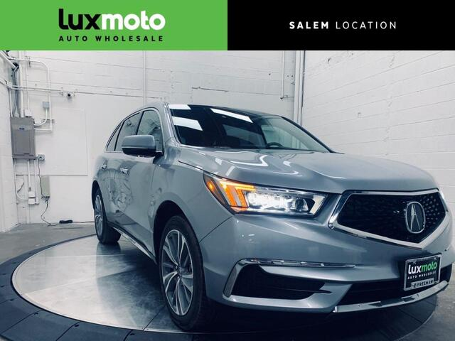 2017 Acura MDX AWD with Technology Package Portland OR