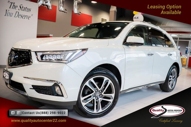 2017 Acura MDX Advance Entertainment Package Navigation Sunroof 1 Owner Springfield NJ