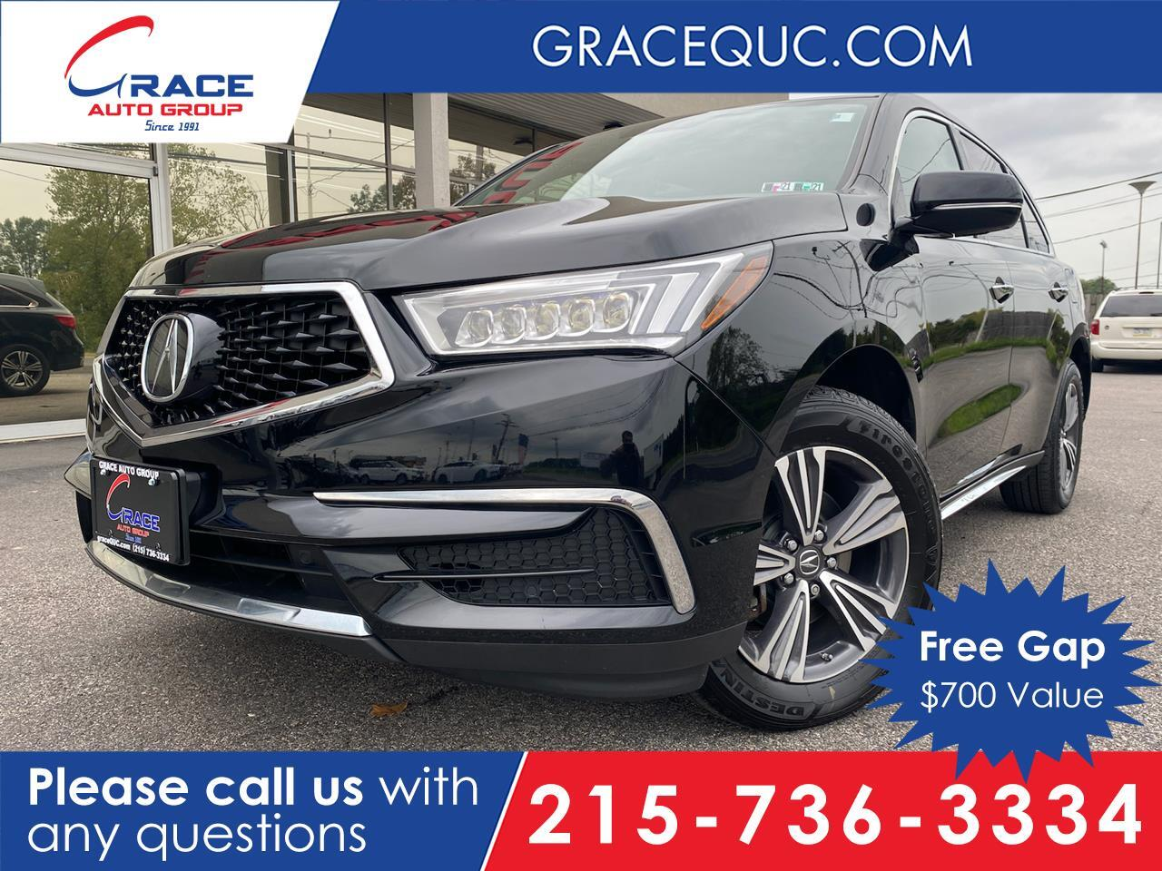 2017 Acura MDX SH-AWD 9-Spd AT