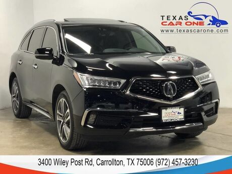 2017 Acura MDX SH-AWD ADVANCE PKG ACURAWATCH PKG NAVIGATION BLIND SPOT ASSIST L Carrollton TX