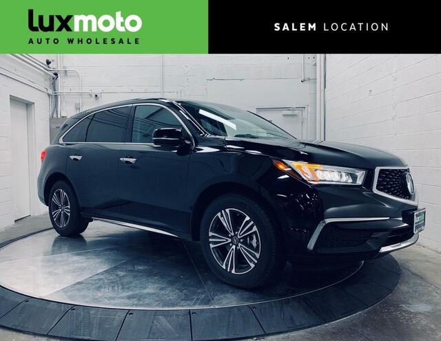 2017 Acura MDX SH-AWD Backup Cam Htd Seats 3rd Row Seat Salem OR