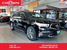 2017_Acura_MDX_SH-AWD Elite Pkg/ accident-free history/ one owner/7-seater/ low kms/ ultrawide rear entertainment sys/ sunroof_ Winnipeg MB