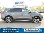2017 Acura MDX SH-AWD Elite, Sunroof, Rear Widescreen DVD, Nav, 360 Camera, Cooled/Heated Leather Seats
