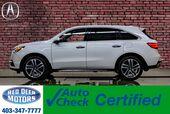 2017 Acura MDX SH-AWD Tech Pkg Leather Roof Nav TV