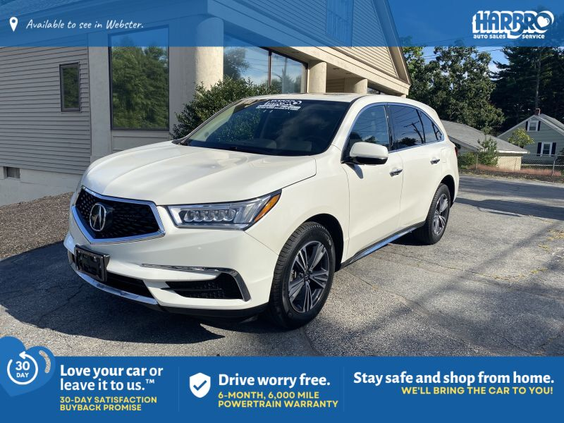2017 Acura MDX SH-AWD w/Driver Assist Pkg Webster MA
