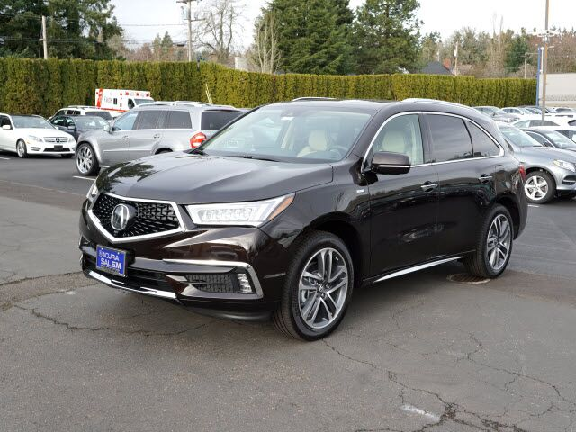 2017 acura mdx sport hybrid sh awd with advance package salem or 21888580. Black Bedroom Furniture Sets. Home Design Ideas
