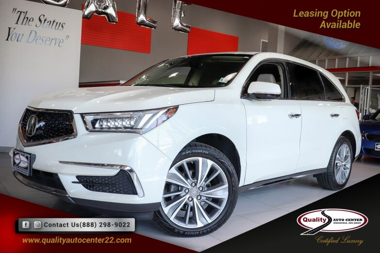 2017 Acura MDX Technology Package Navigation Sunroof 1 Owner Springfield NJ