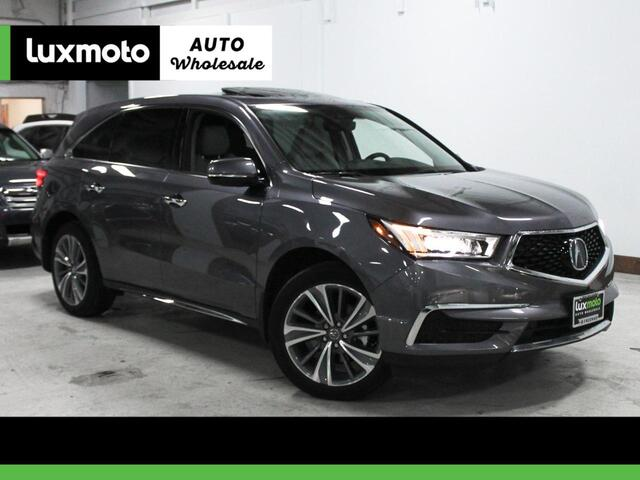 2017 Acura MDX w/Technology Pkg AWD 3rd Row Back-Up Camera Portland OR