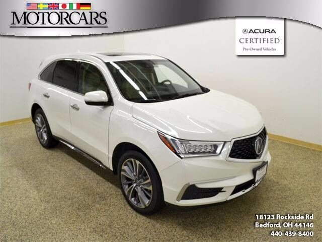 2017 Acura MDX w/Technology Pkg Navigation Bedford OH