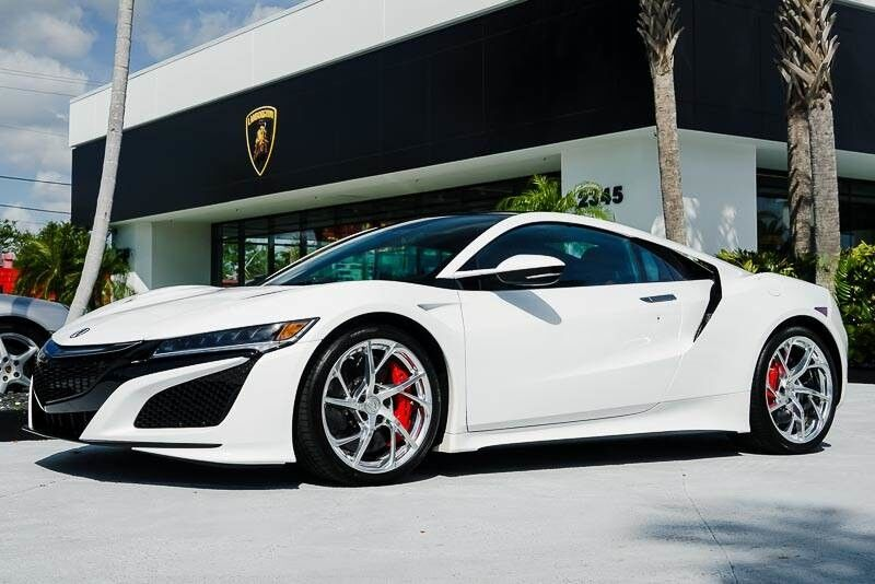 2017_Acura_NSX__ Palm Beach FL