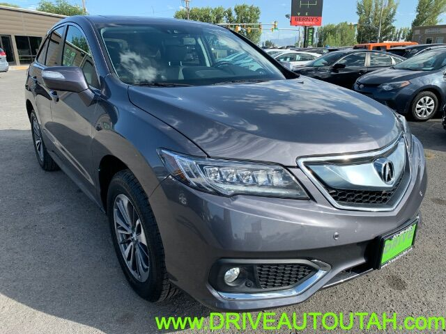 2017 Acura RDX 6-Spd AT AWD w/Advance Package Pleasant Grove UT