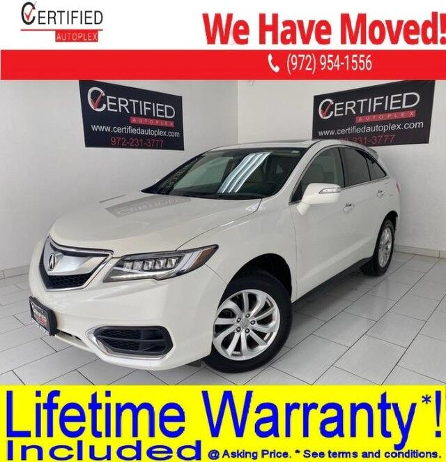 2017 Acura RDX AWD SUNROOF REAR CAMERA HEATED LEATHER SEATS MEMORY SEAT POWER LIFTGATE Dallas TX