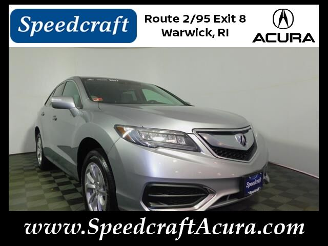 2017 Acura RDX AWD with Technology and AcuraWatch Plus Packages Wakefield RI