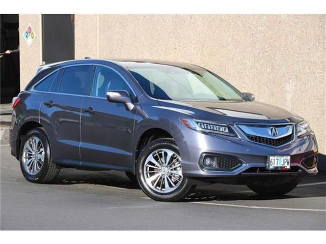 2017 Acura RDX Advance Package All-wheel Drive Salem OR