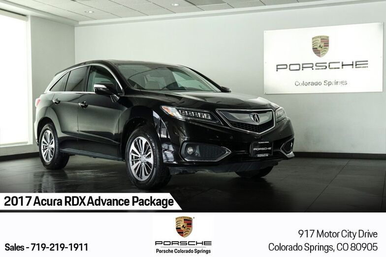 2017 Acura RDX Advance Package Colorado Springs CO