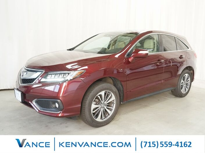 2017 Acura RDX Advance Package Eau Claire WI