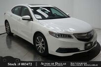 Acura TLX 2.4L CAM,SUNROOF,HTD STS,KEY-GO,17IN WHLS 2017