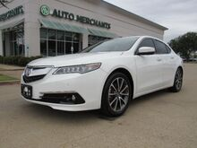 2017_Acura_TLX_9-Spd AT SH-AWD w/Advance Package, SUNROOF, NAV, HEATED SEATS, BACKUP CAM, LANE ASSIST, AVOIDANCE_ Plano TX