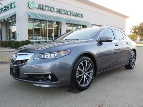 2017 Acura TLX 9-Spd AT w/Advance Package SUNROOF, NAV, HEATED SEATS, LANE ASSIST, AVOIDANCE, BACKUP CAM Plano TX