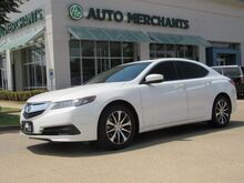 2017_Acura_TLX_Base 2.4L BACKUP CAM, SUNROOF, HTD SEATS, BLUETOOTH, PUSH BUTTON, PADDLE SHIFTERS, CD PLAYER_ Plano TX