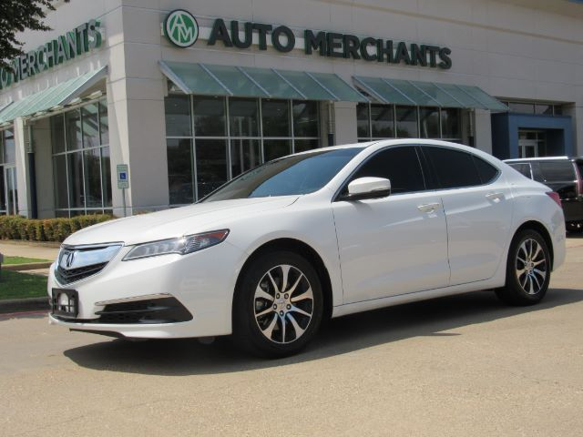 2017 Acura TLX Base 2.4L BACKUP CAM, SUNROOF, HTD SEATS, BLUETOOTH, PUSH BUTTON, PADDLE SHIFTERS, CD PLAYER Plano TX