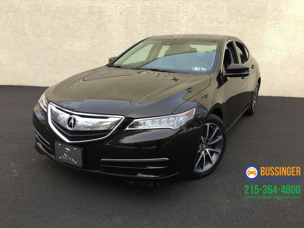 2017 Acura Tlx V6 W Technology Package Feasterville Pa