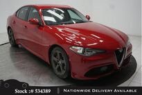Alfa Romeo Giulia BACK-UP CAMERA,KEY-GO,18IN WHLS 2017