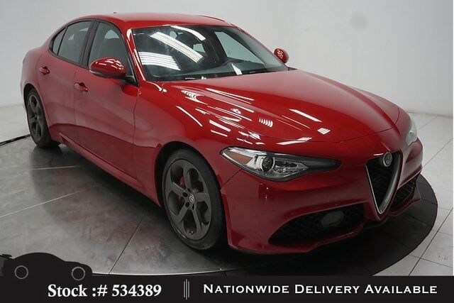 2017 Alfa Romeo Giulia BACK-UP CAMERA,KEY-GO,18IN WHLS Plano TX