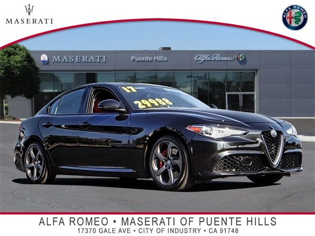 2017 Alfa Romeo Giulia Base City of Industry CA